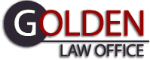 Golden Law Harrow Logo
